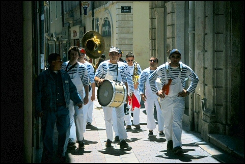 Band in Nîmes